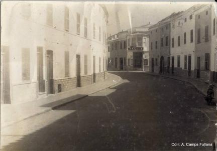 Carrer Nou 1965.Col·l. A. Camps Fullana.
