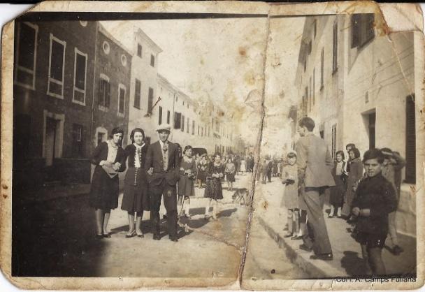 Carrer Nou de Ferreries. 1932. Col·l. A. Camps Fullana. publicada a FOTOS ANTIGUAS DE MENORCA