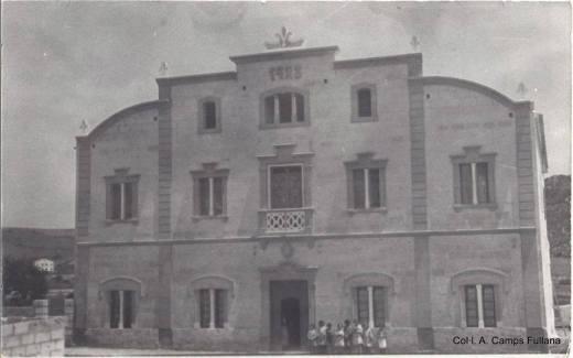 Convent de Ferreries, inaugurat l'11 de novembre de 1923 Col·lecció d'Antoni Camps Fullana